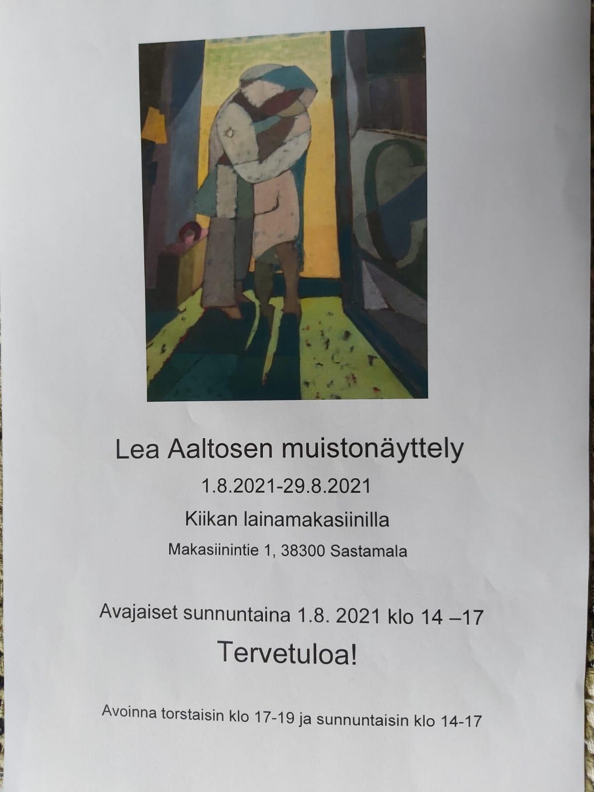 Näyttelyn juliste