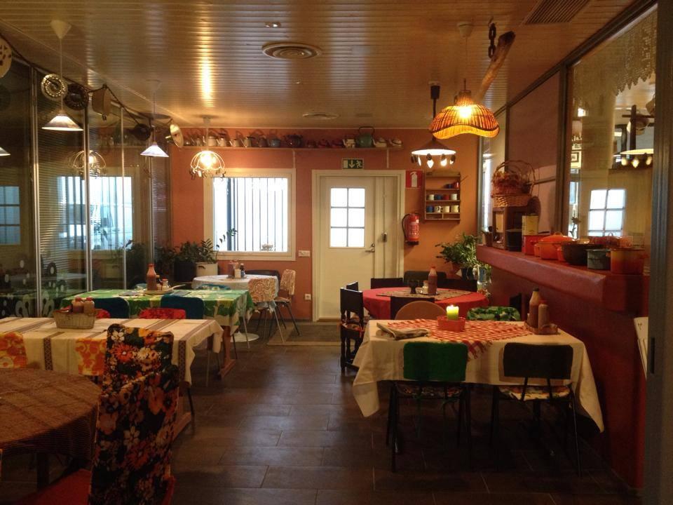 Sisäkuva ravintolasta